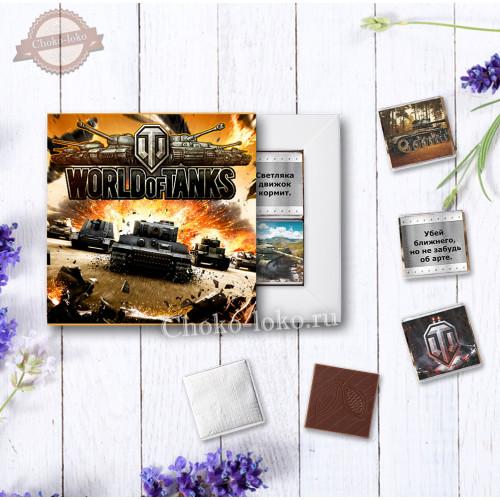 "Подарочный набор ""ТАНКИ World of Tanks"""